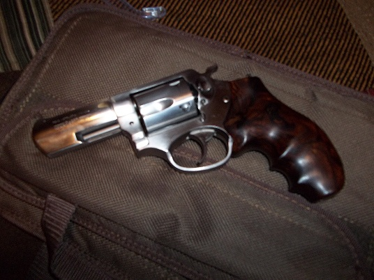 My First Revolver - Ruger SP101 2/14 in barrel. (My choice for concealed carry)-001.jpg