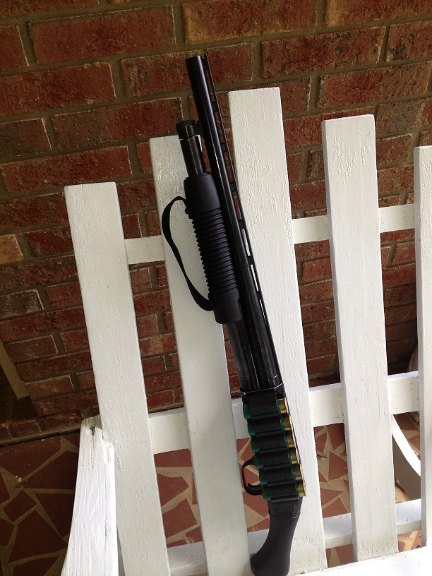"""COMPLETE:  Mossberg Raptor """"Shortie"""" for pointing, and Remington 870 for aiming!-006.jpg"""