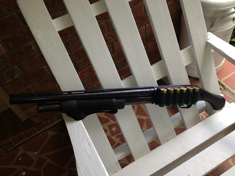"""COMPLETE:  Mossberg Raptor """"Shortie"""" for pointing, and Remington 870 for aiming!-008.jpg"""