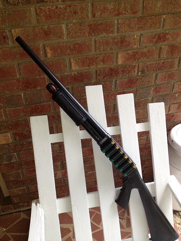 """COMPLETE:  Mossberg Raptor """"Shortie"""" for pointing, and Remington 870 for aiming!-010.jpg"""