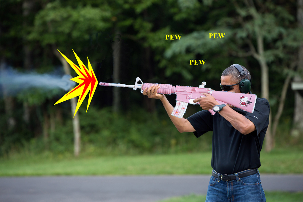 W.H. Releases Photo of Obama Shooting a Gun-0bamashooterbackground.jpg
