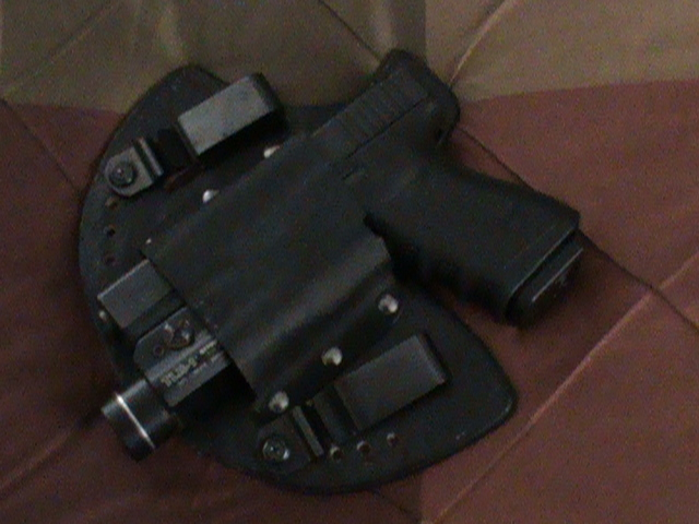 My new holster (glock with light attached)-1.jpg