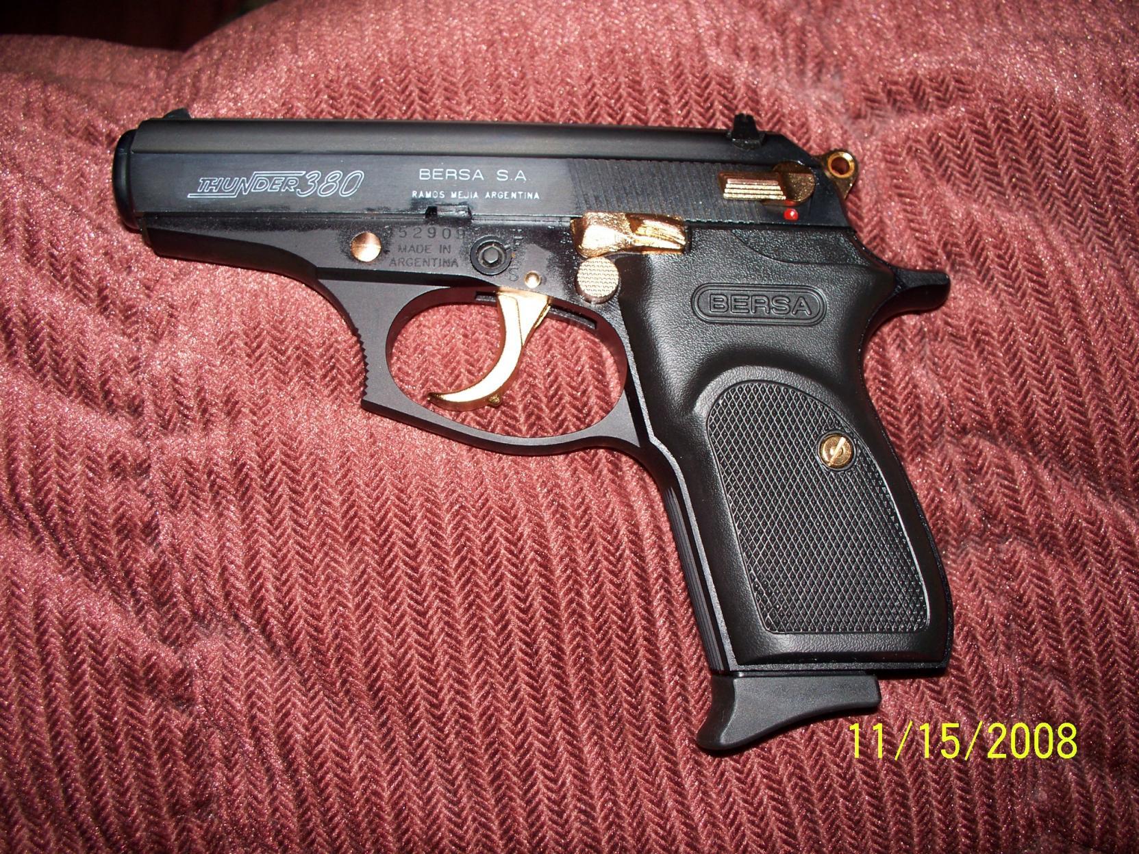 Bersa Thunder 380 CC