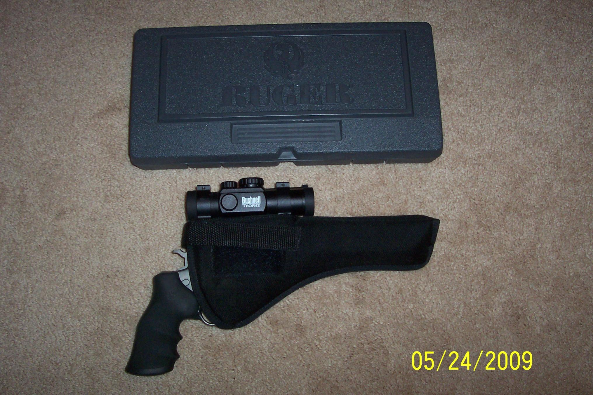 WTS Practically New Ruger Super Red Hawk .454 Casull w/ Bushnell Red Dot Scope : [NC]-100_3989.jpg