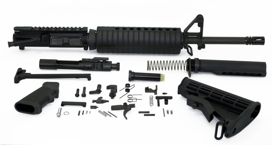 "Two options for AR15:  Bushmaster XM15ES2 20"" or S&W M&P15 Sport 16""-16in_mid_classic_kit_2.jpg"