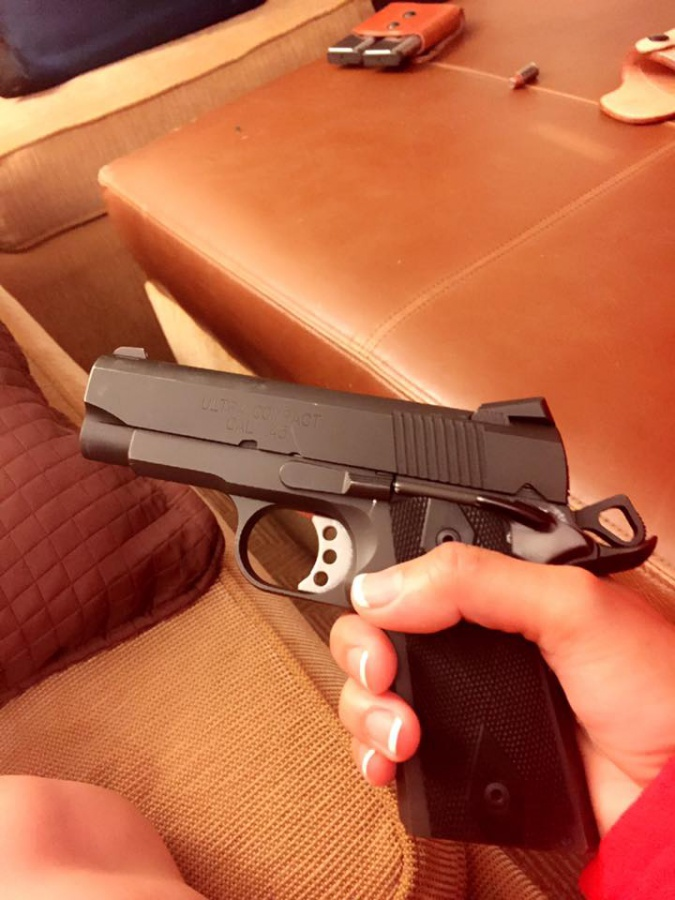 Small sized 1911 style 45acp reliability - Page 3
