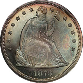 Anybody Else Here Been Buying The 1 Troy OZ .999 Silver ZOMBUCKS ???-1873_seated_dollar_obv.jpg