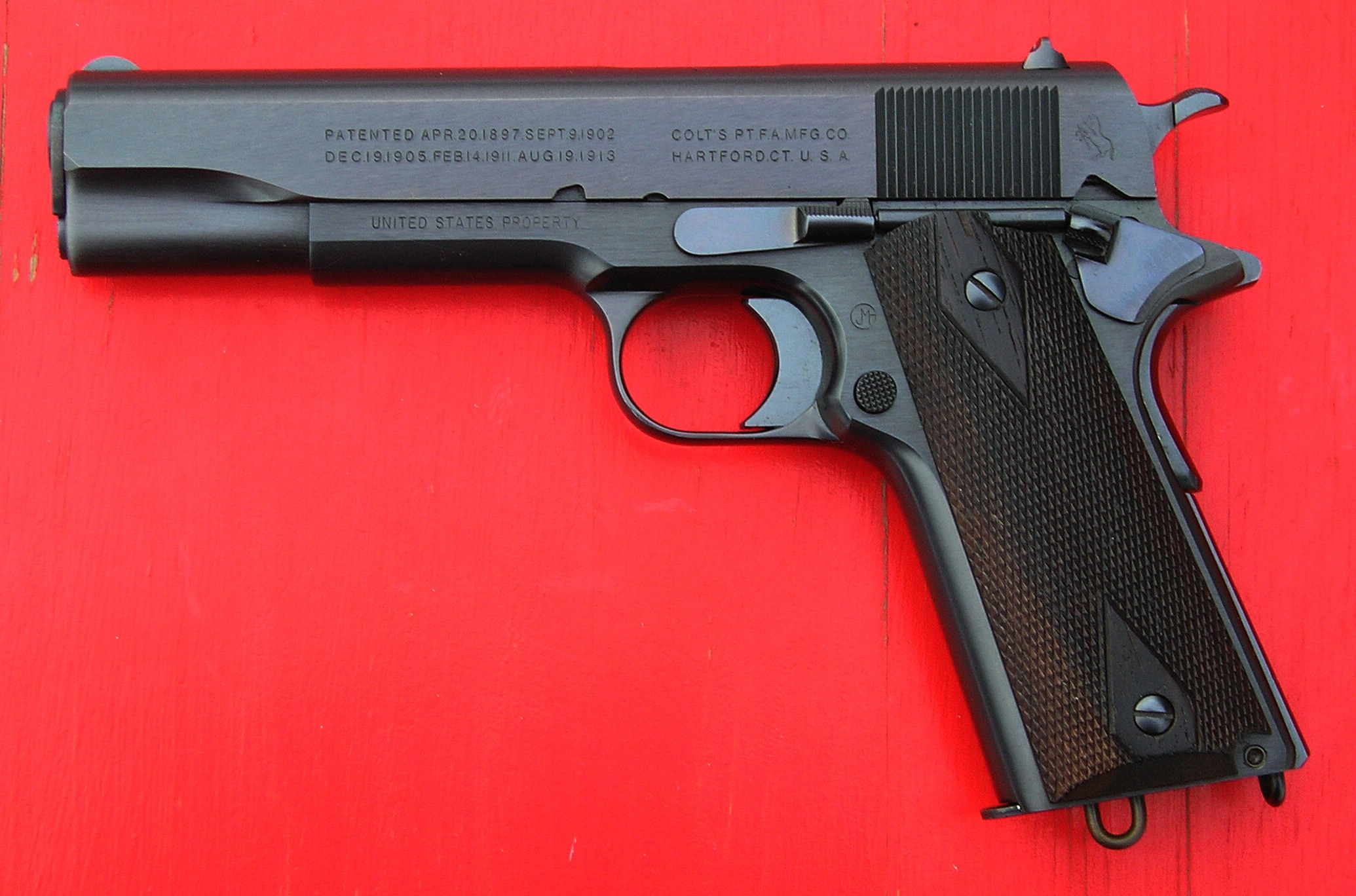 """The """"addiction"""" is STILL STRONG with this one! OK, """"Cough up"""" your 1911s !!-1911-repro.jpg"""