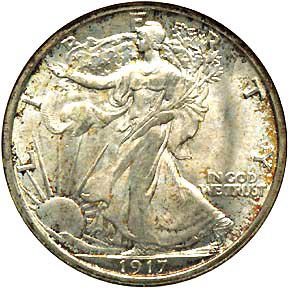 Anybody Else Here Been Buying The 1 Troy OZ .999 Silver ZOMBUCKS ???-1917halfdollarobv.jpg