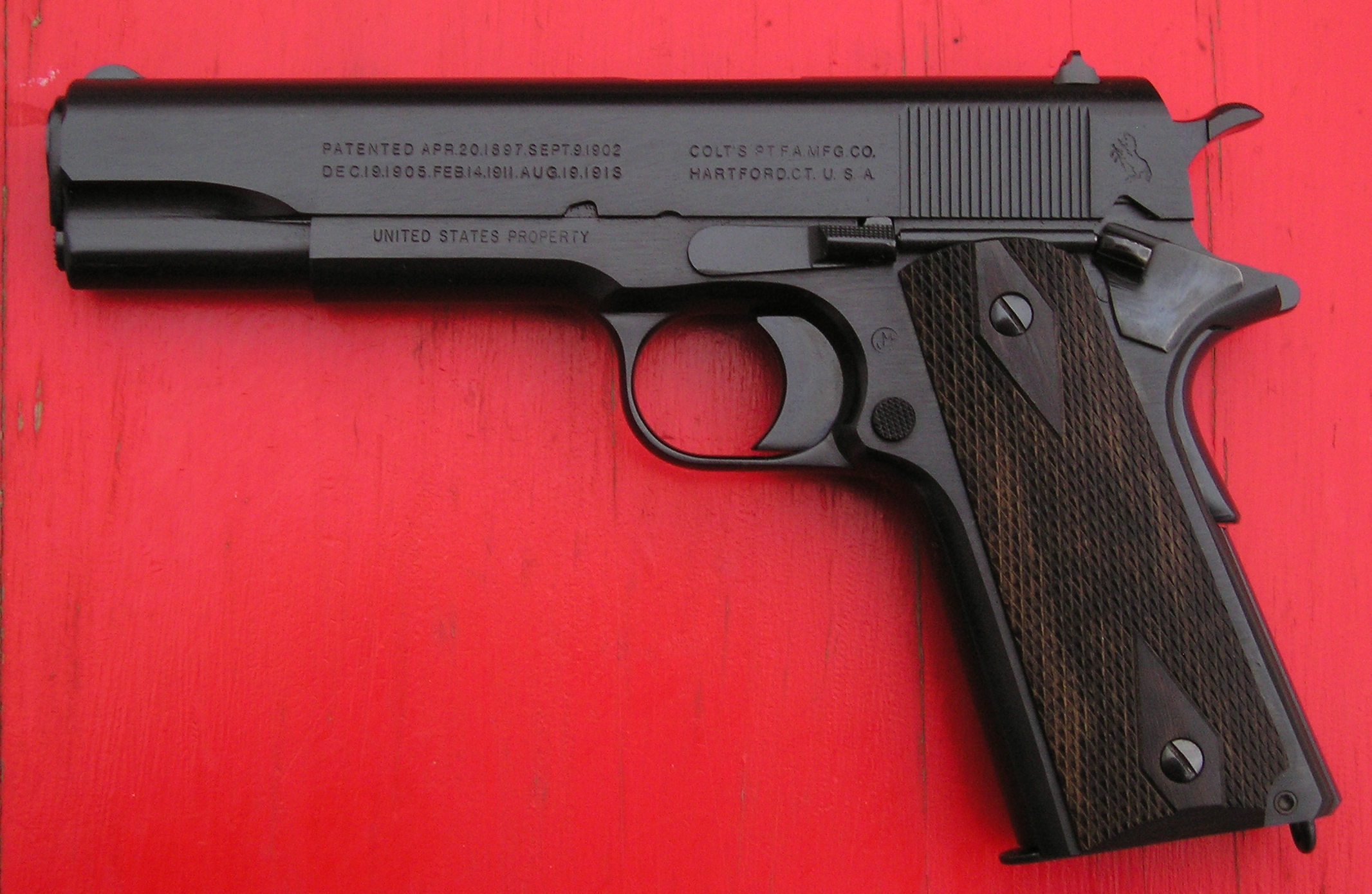 Colt Announcing World War I-Era 1911 Black Army-1918-reproduction.jpg