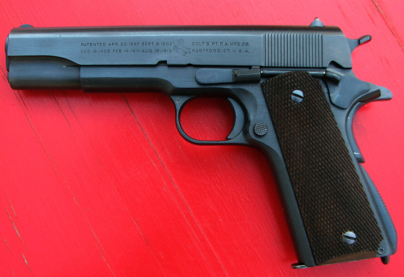 """The """"addiction"""" is STILL STRONG with this one! OK, """"Cough up"""" your 1911s !!-1940-m1911a1-l.jpg"""