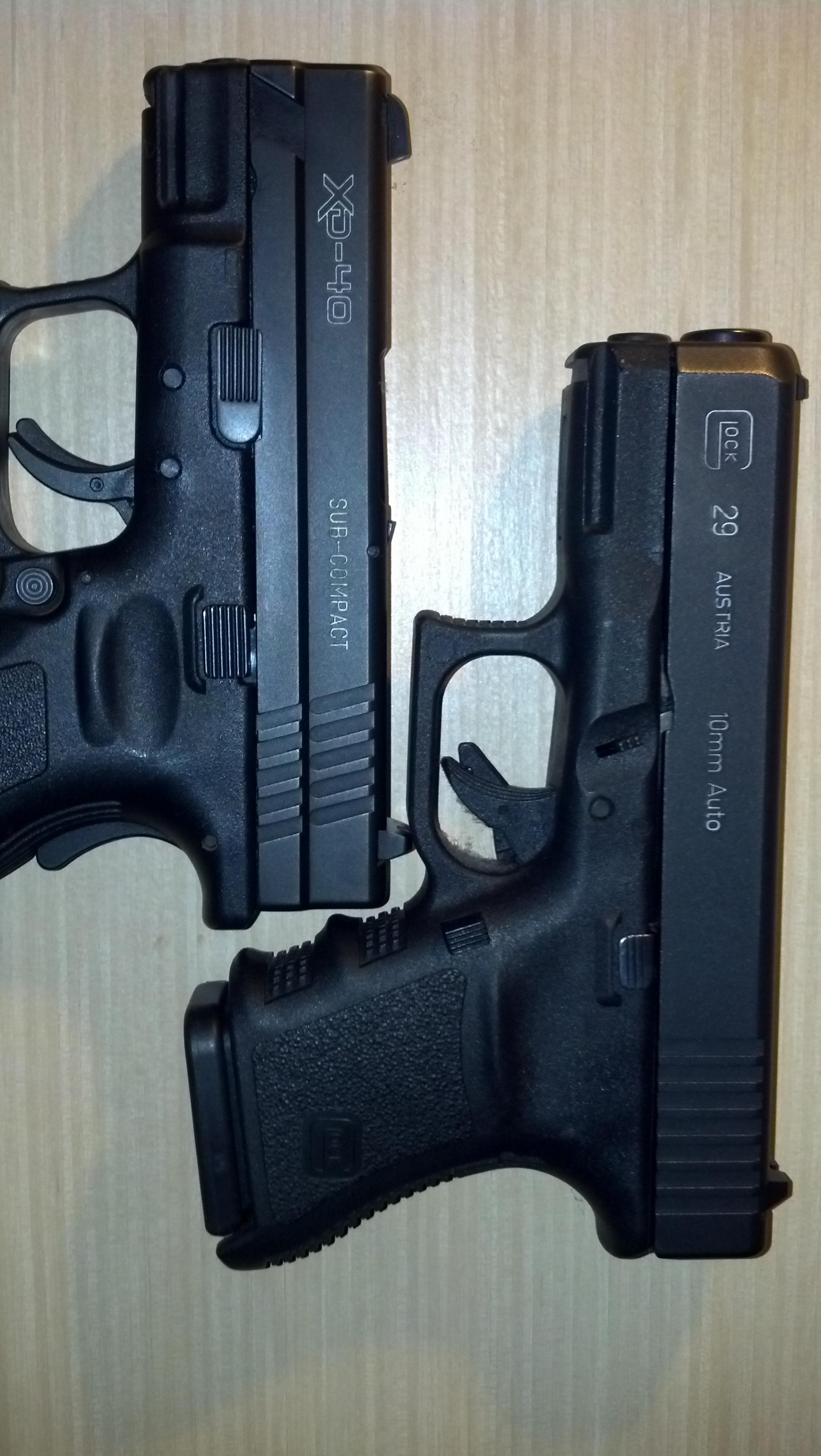 Colored Lettering On Handguns Defensive Carry