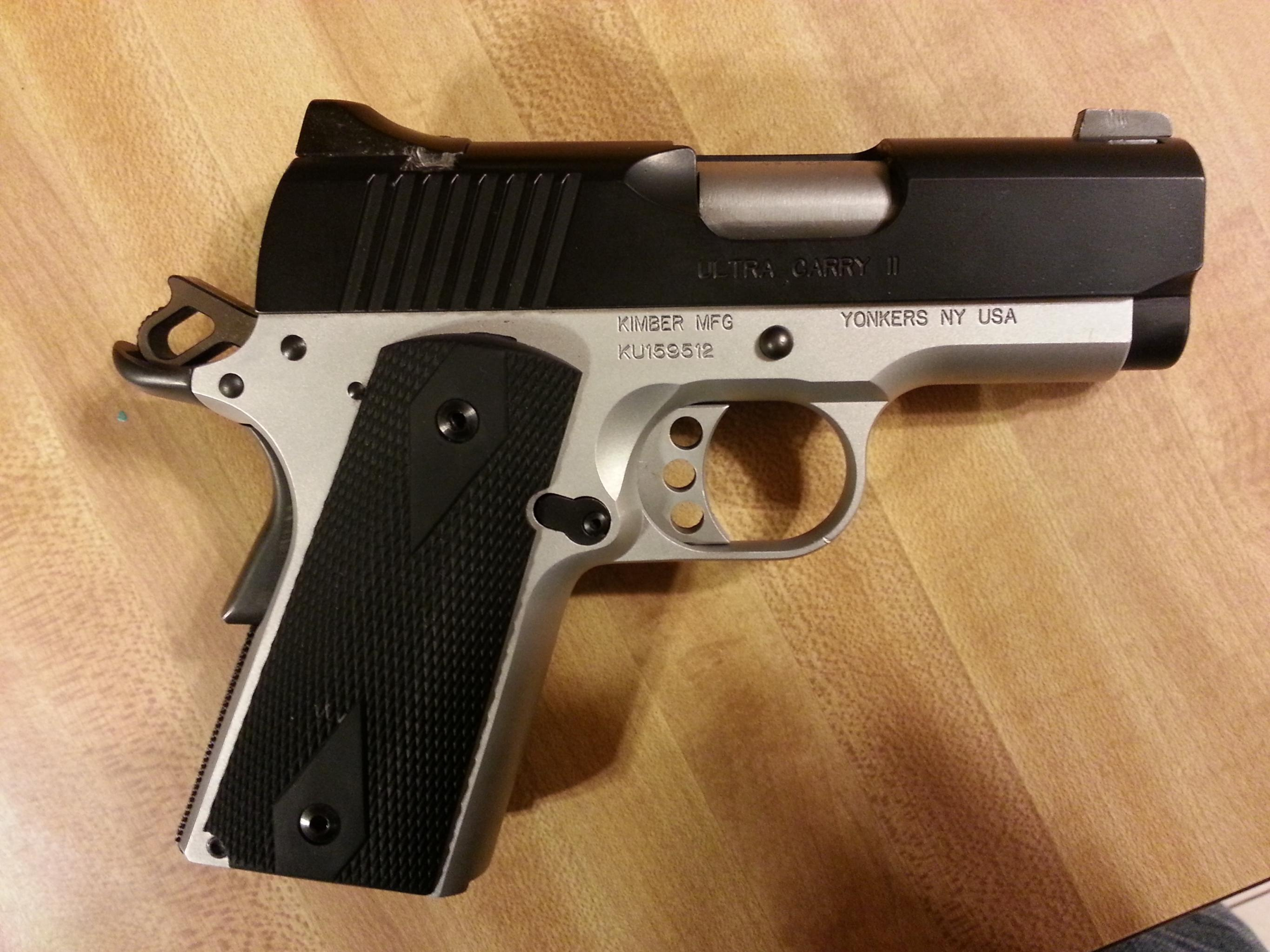 got bored and refinished my ultra carry... what yall think-20121012_194623.jpg