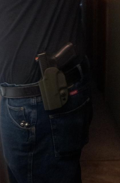 Glock 19 OWB holster options