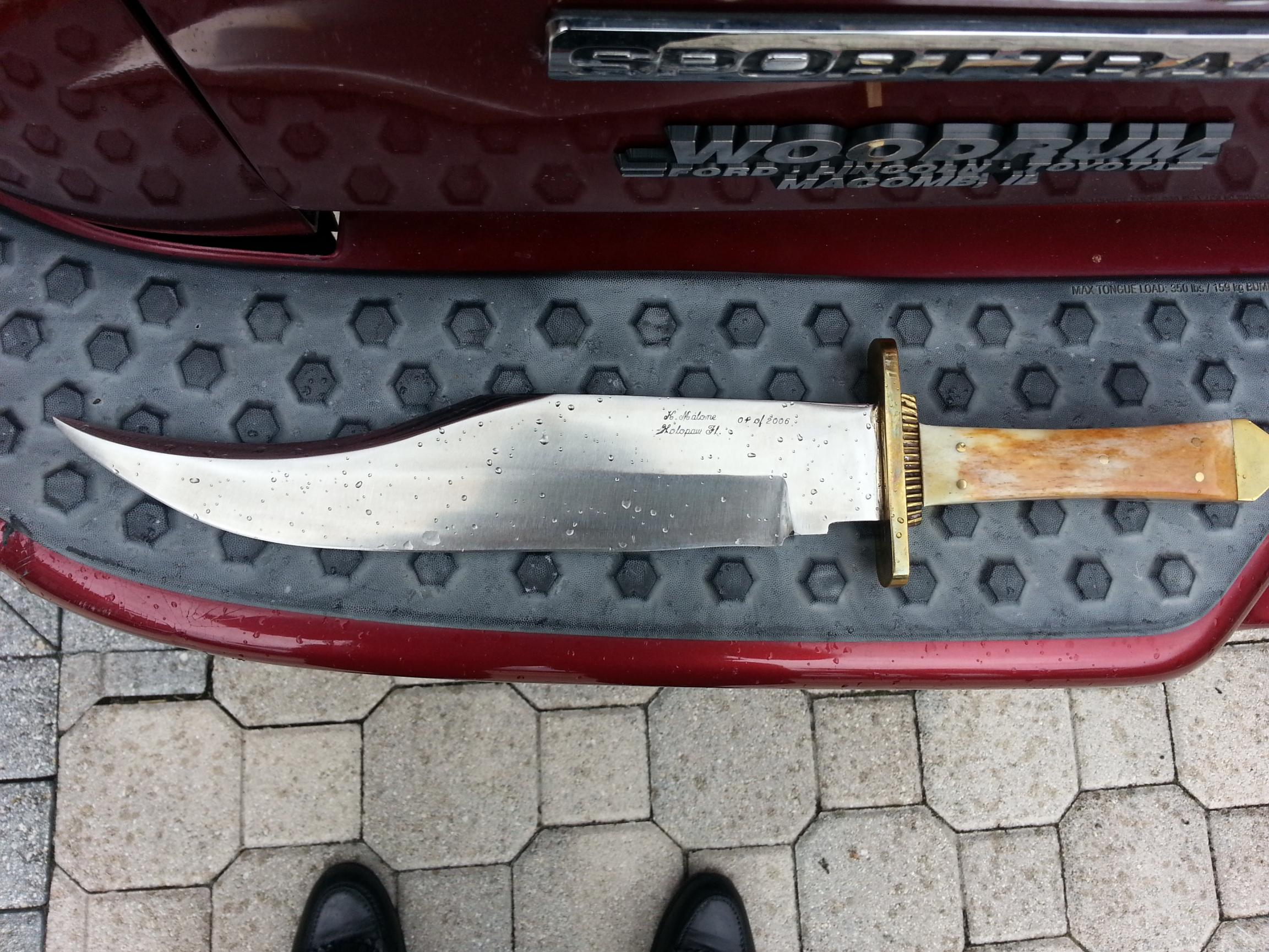 Awesome find on EBAY - Hand forged Bowie Knife from Florida-20130722_182540.jpg