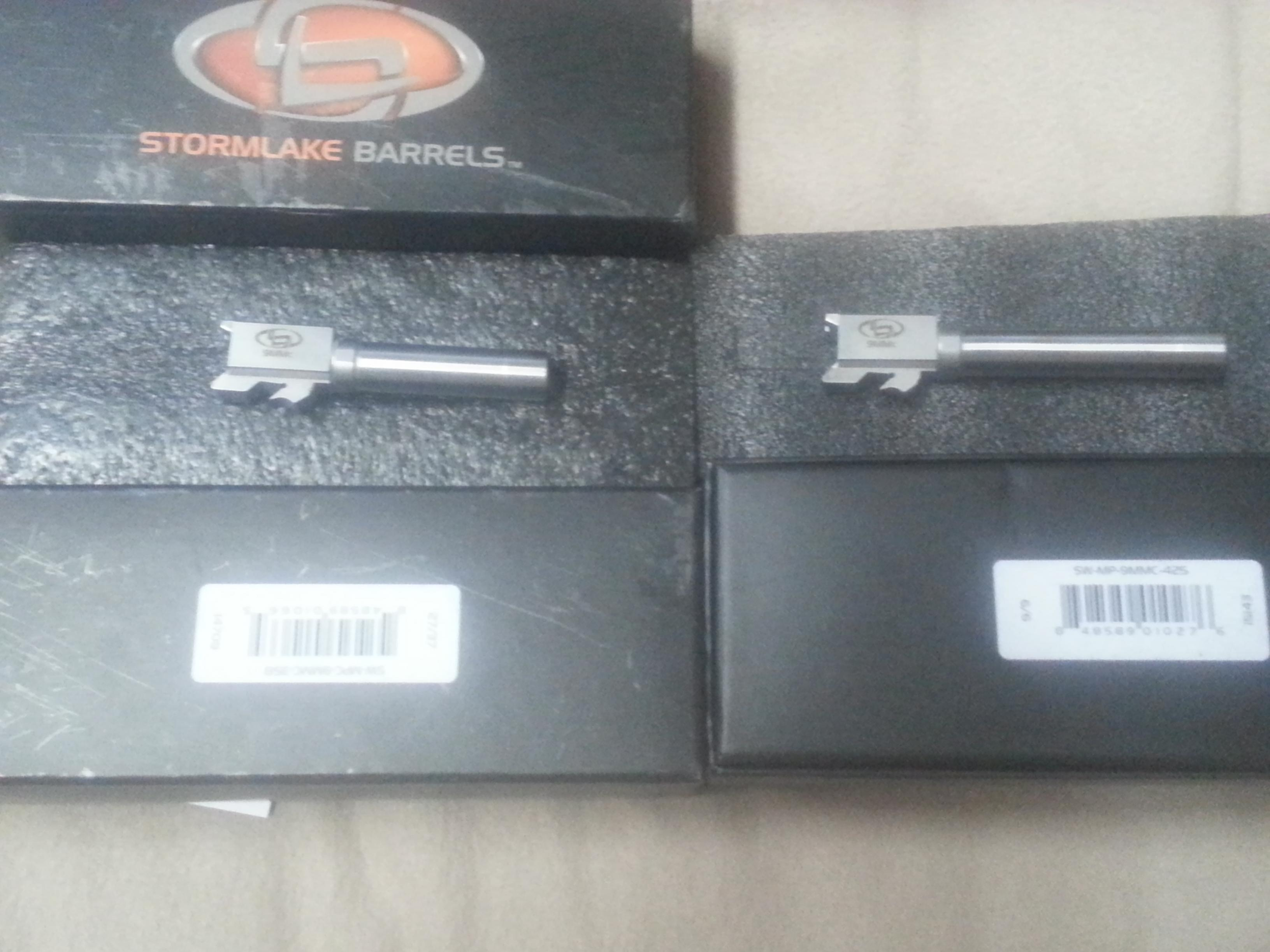 Storm lake conversion barrels  m&p 40 to 9mm full and compact both for 250 or 130 eac-20130817_153646.jpg