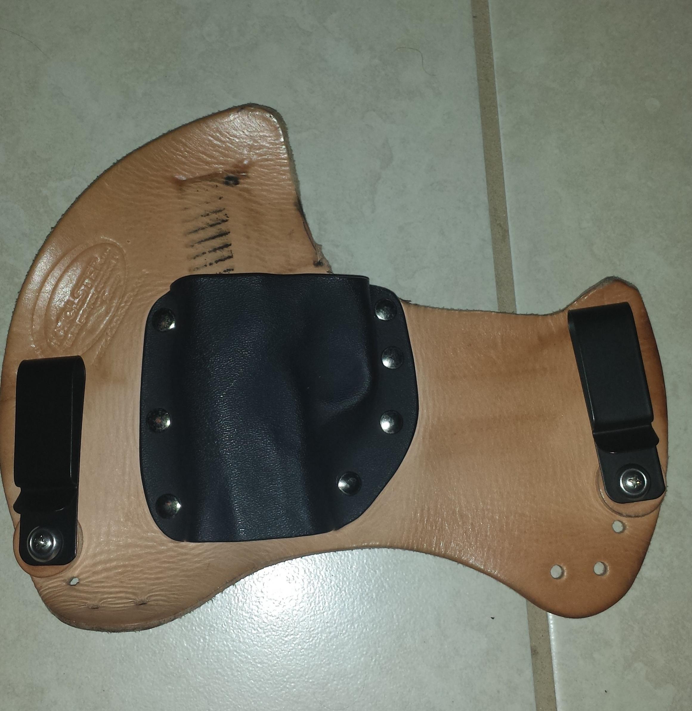 My EDC holsters for my Kahr CM40-20130913_224748.jpg