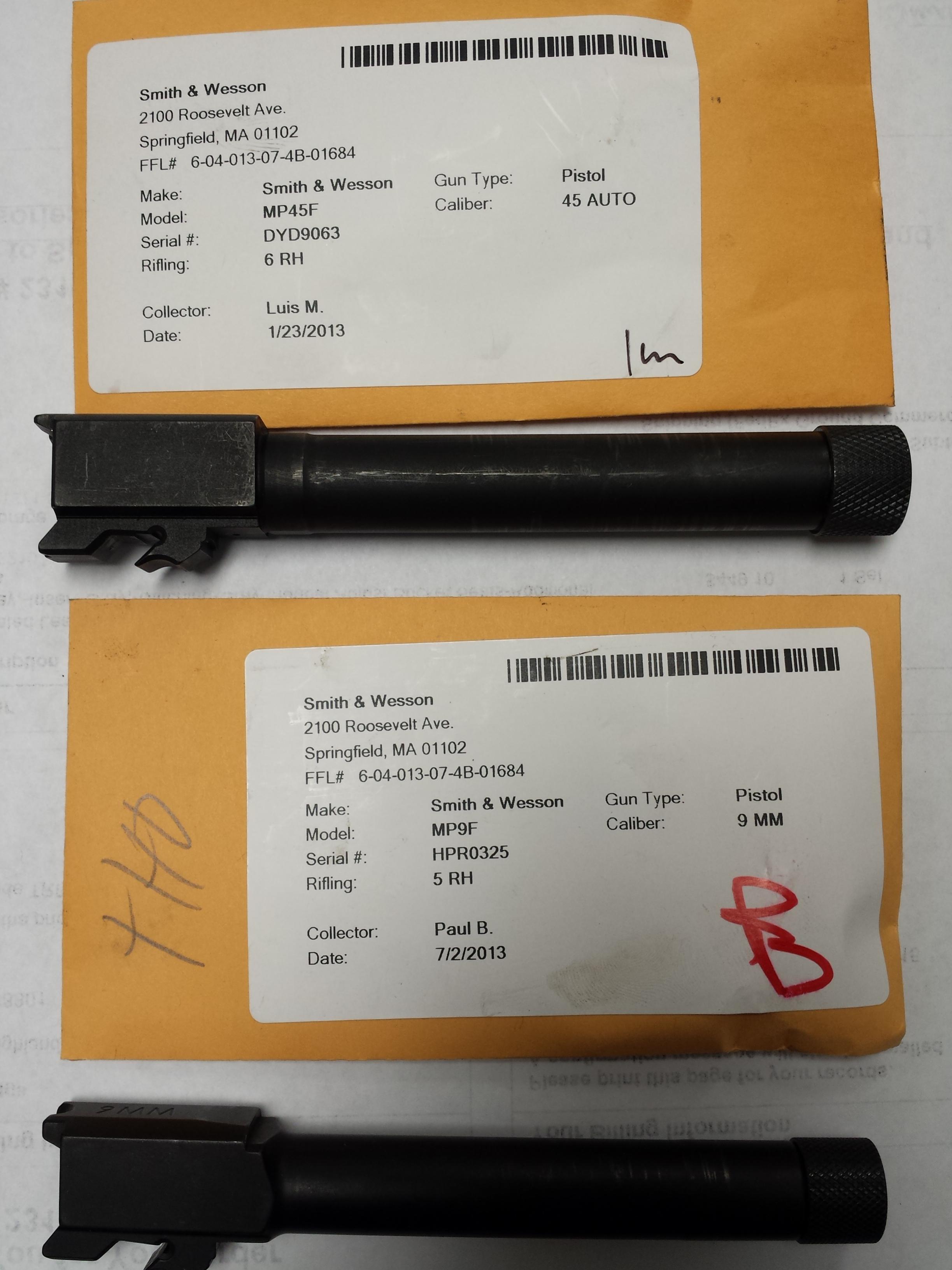 Smith & Wesson M&P Threaded Barrels .45 & 9mm-20131211_171928.jpg