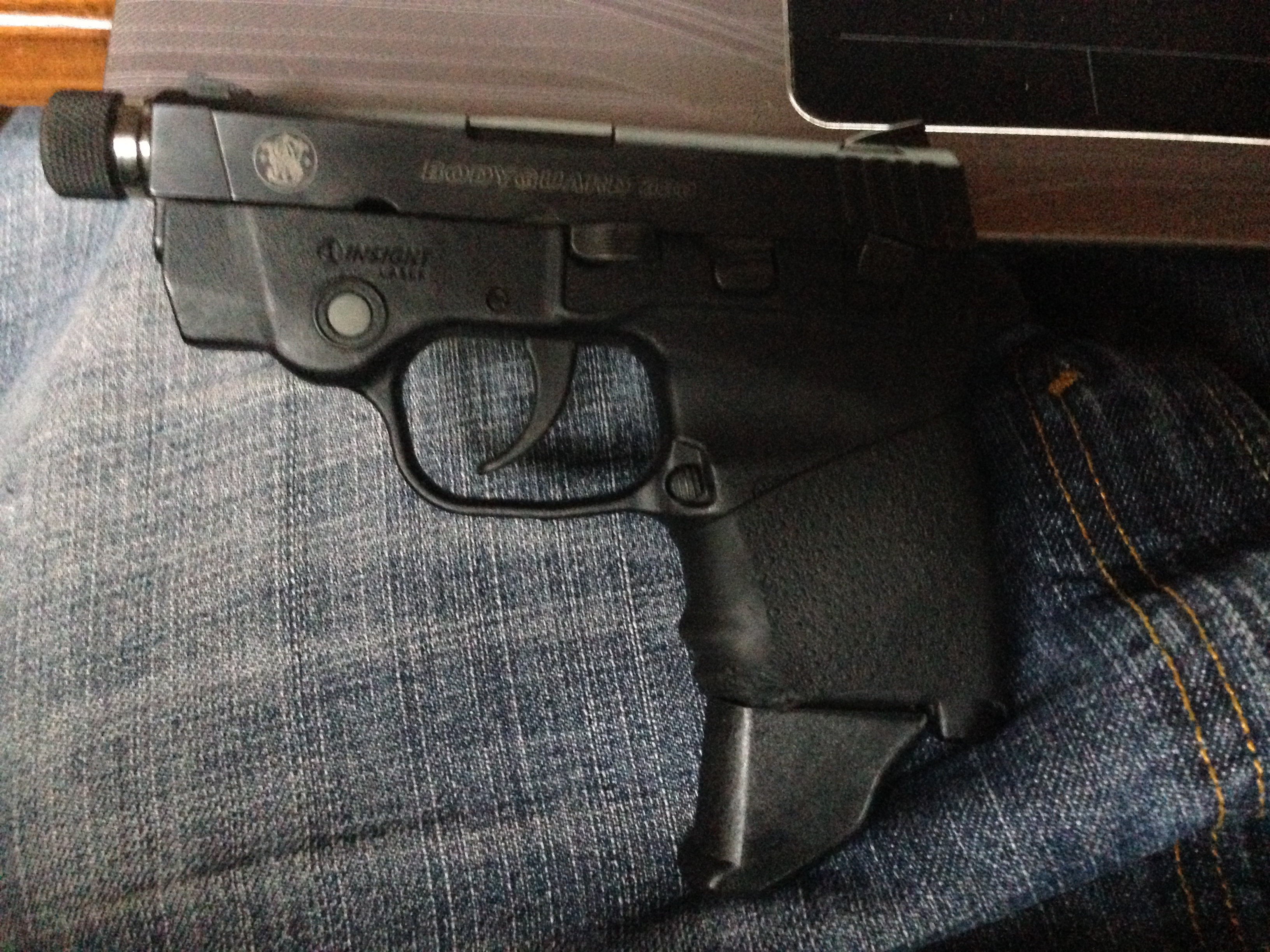 Thoughts on a deep concealment gun that's smaller than an LCR/j