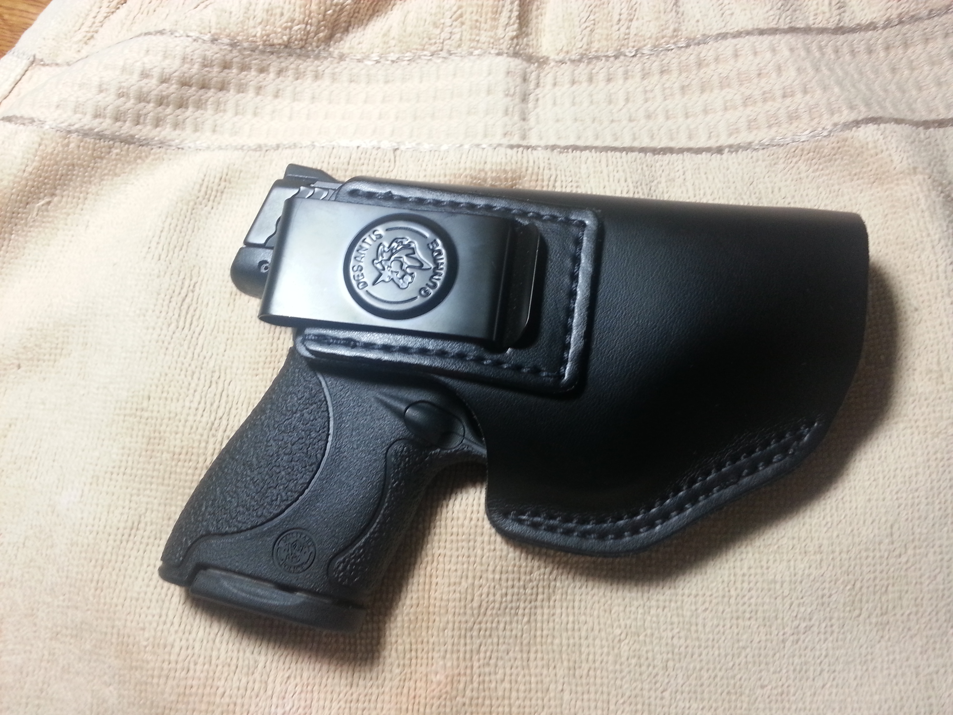Deep concealment holster for Shield.