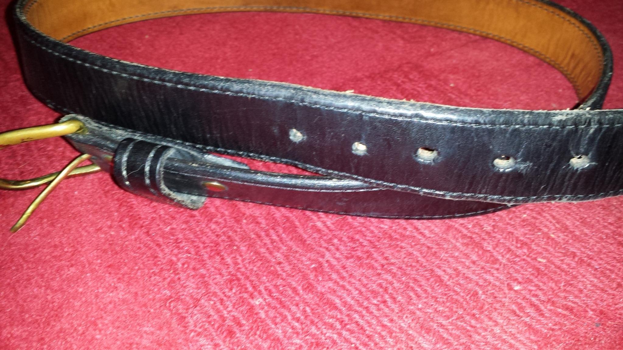 A&G gunbelt, Bullard holster, Overland mag holder, for sale.-20140118_183409.jpg