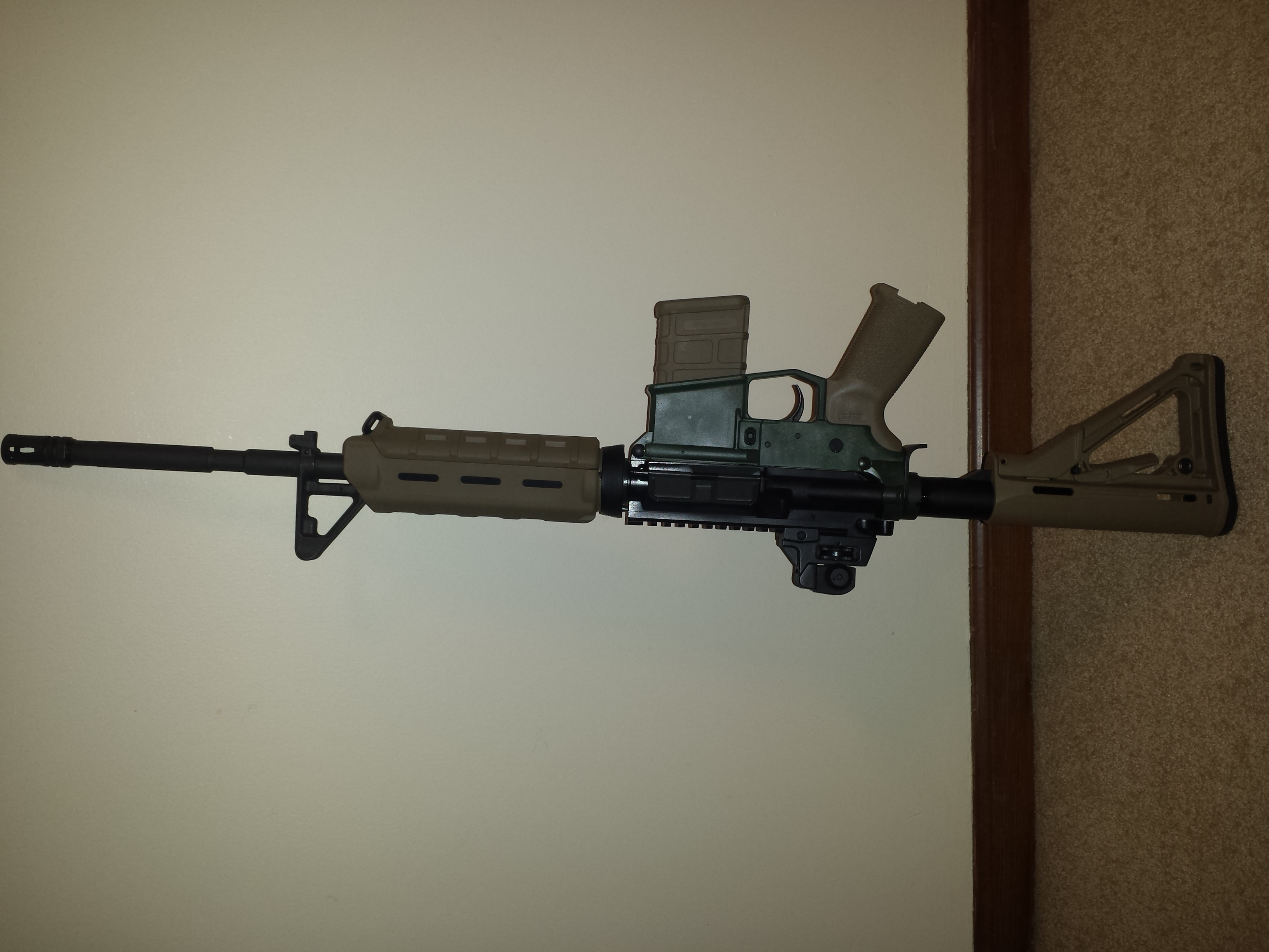 New AR Build - Pretty or Pretty Ugly?-20140220_073001.jpg