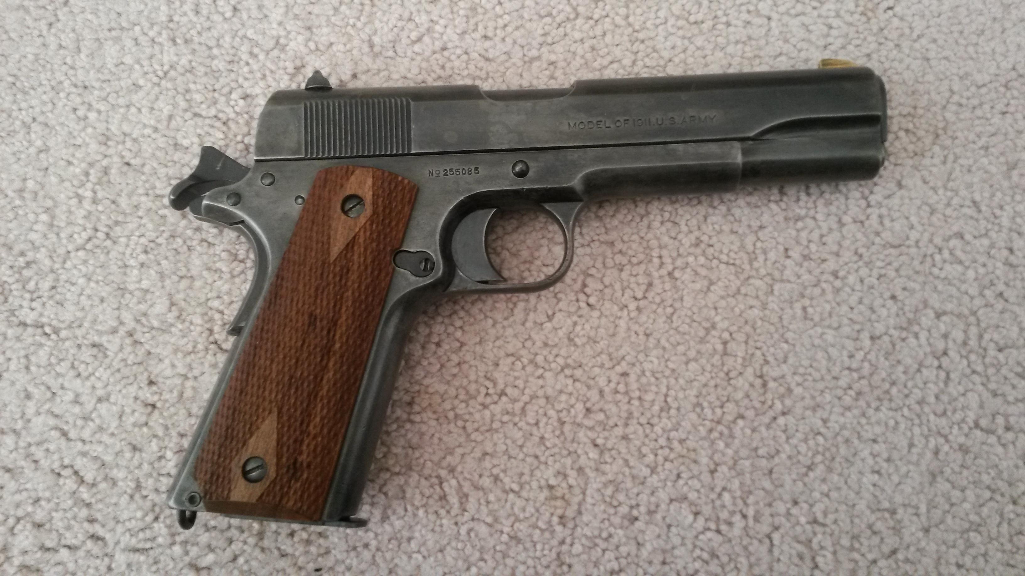 Picked up my WW1 Colt 1911 today-20140421_102757.jpg
