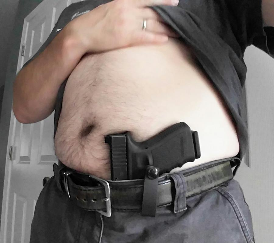 "Appendix Carry for ""husky"" guys (first holster tried)-20160627_152413.jpg"
