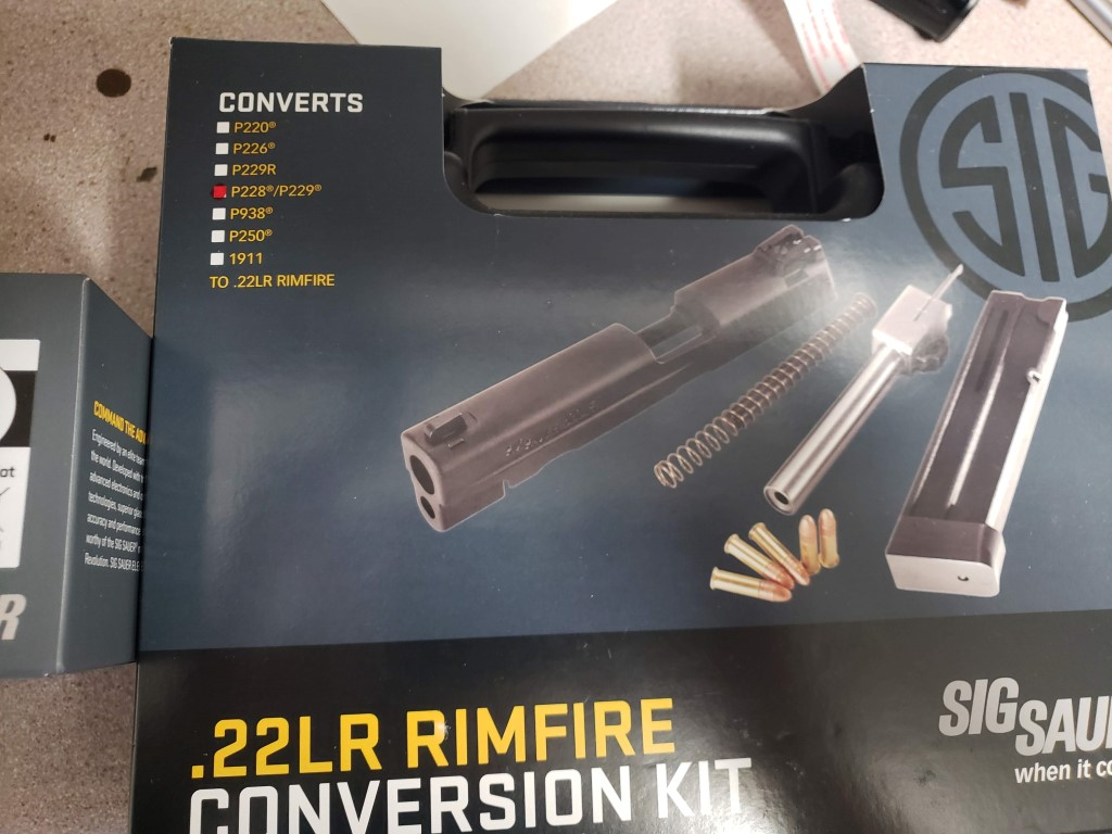 FS NIB TLR-1, Sig romero 5 sight, Sig 229 22lr conversion kit-20180922_113537.jpg
