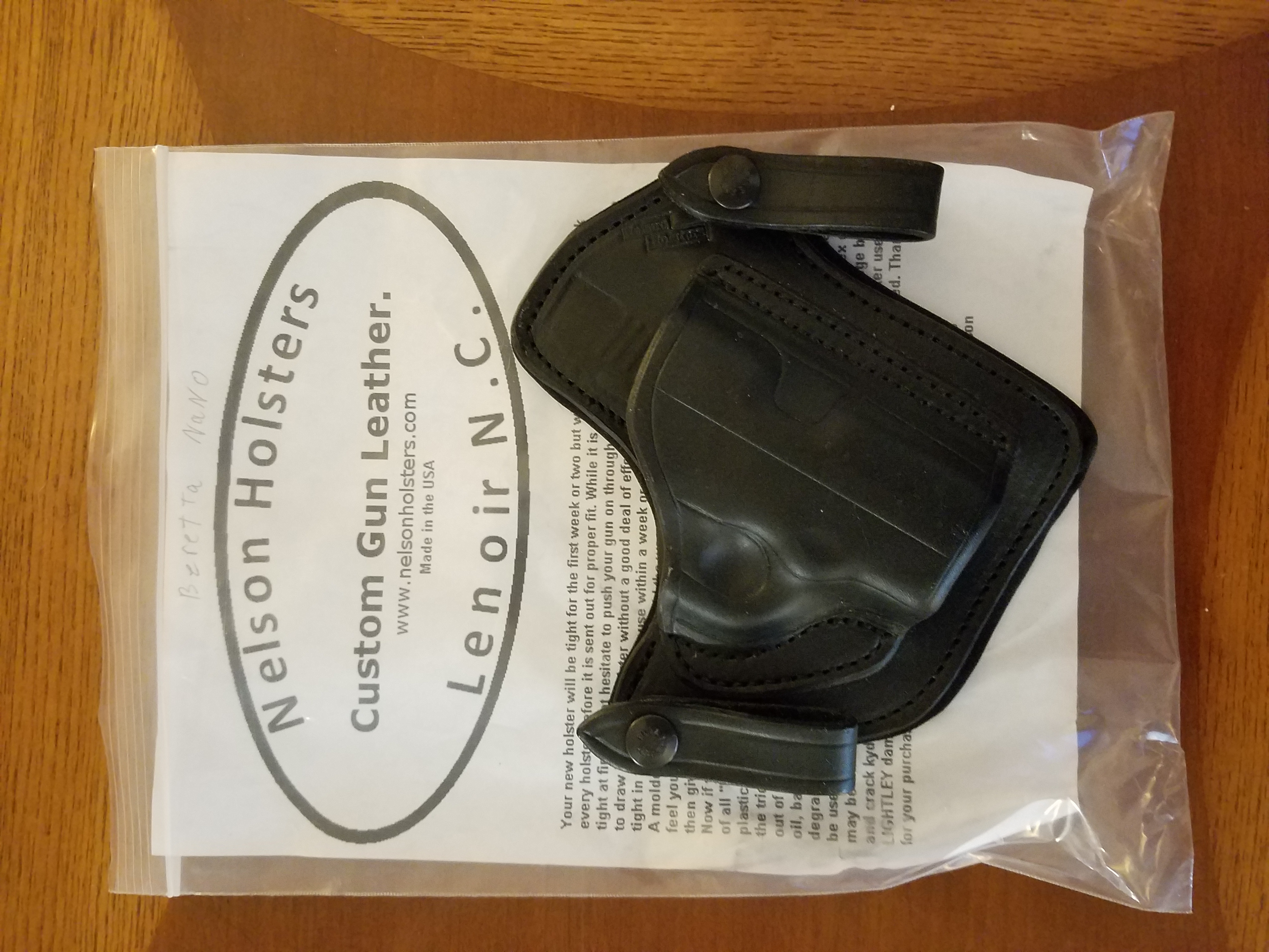 WTS:  Nelson Holsters at stupid low prices-20180923_070805.jpg