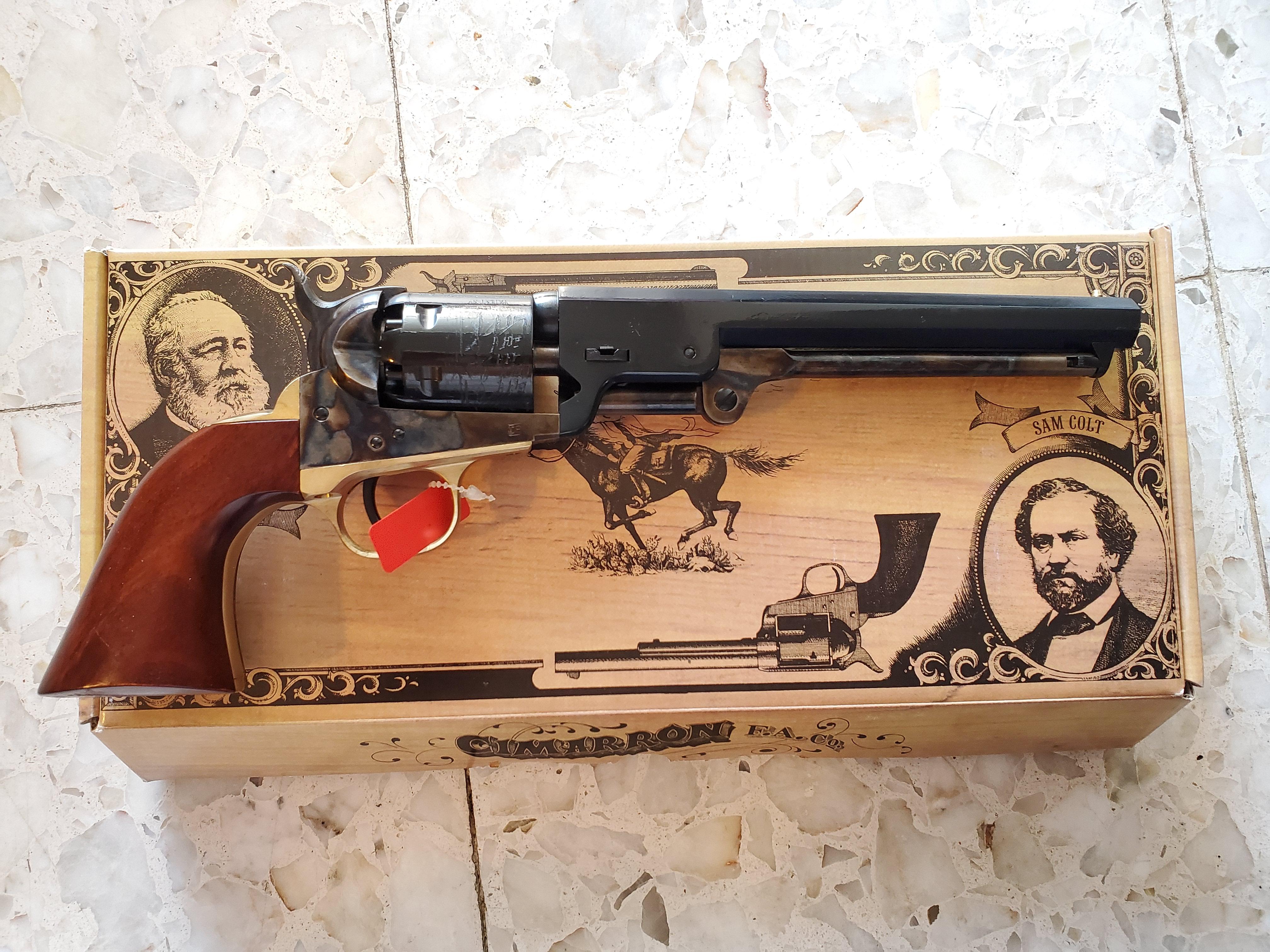 WTS:  Cimarron 1851 Navy 36 cal black powder revolver-20190702_172610.jpg