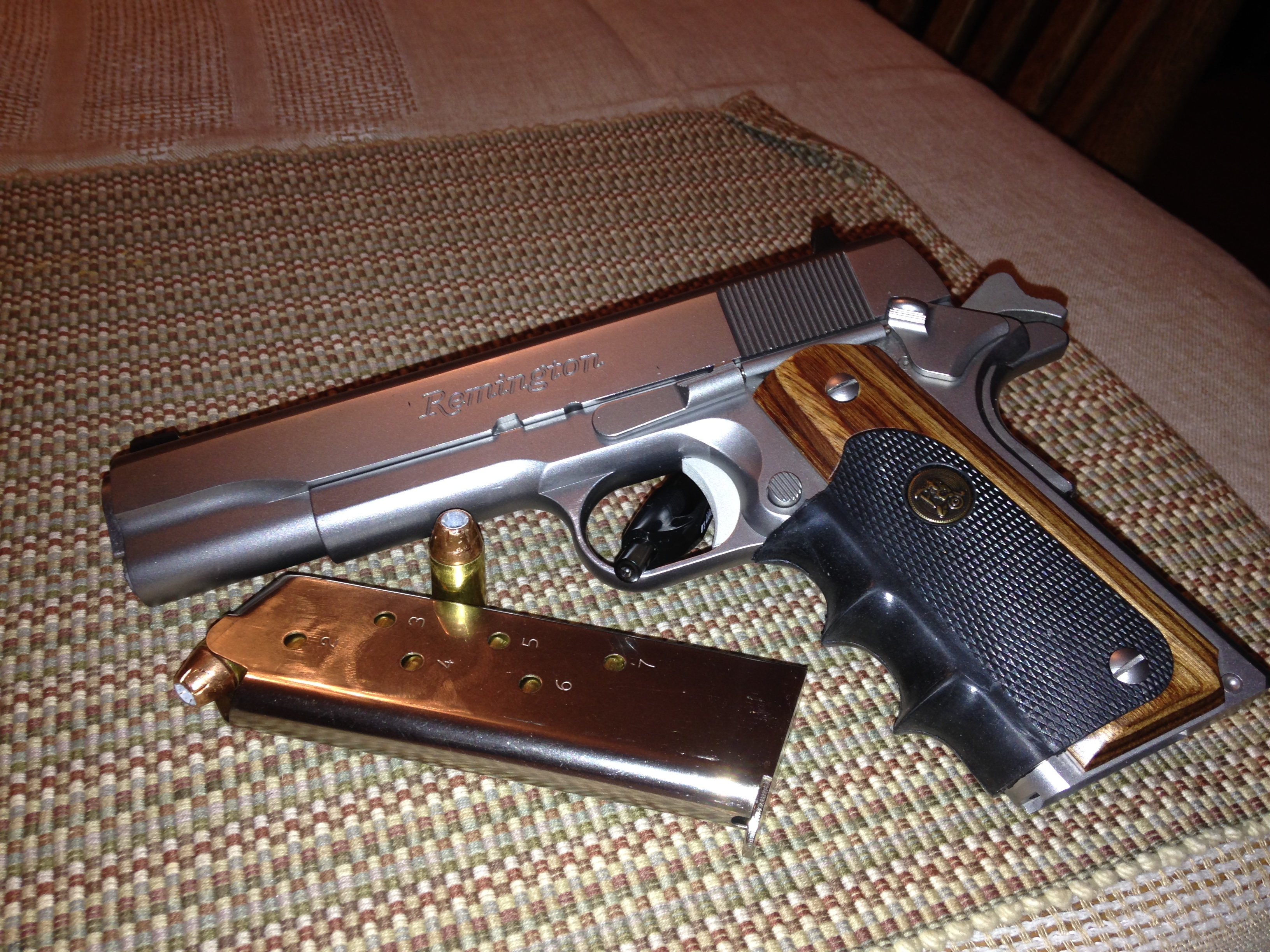 Anyone Use A 1911 For Home Defense?