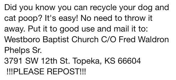 Recycle your dog and cat poop-281664_507776769242500_722565994_n.jpg