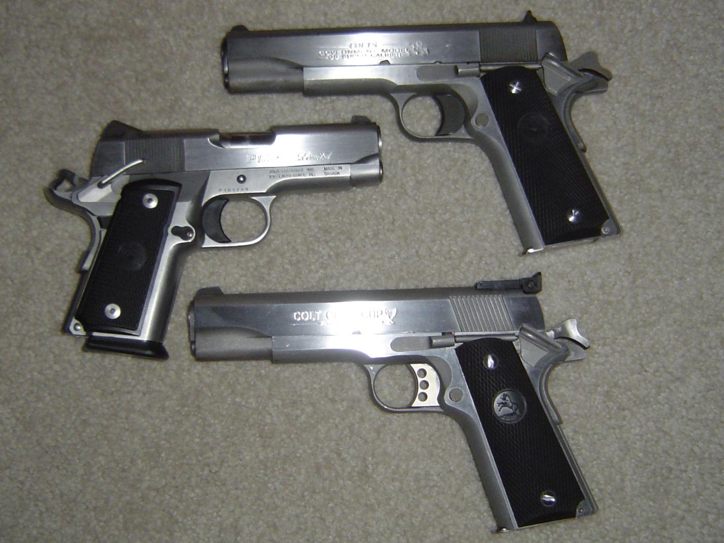 My three Stainless 1911's.-3-1911s.jpg