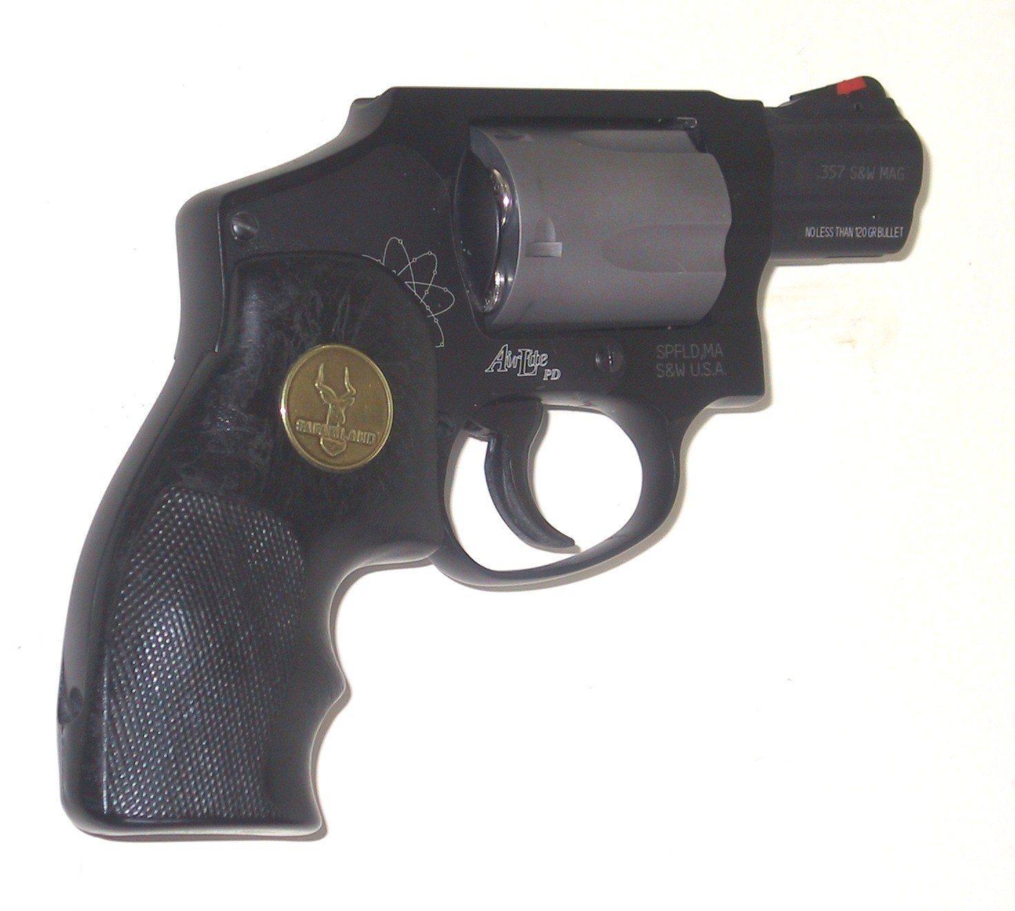 Just picked up a S&W 642 need some pics-340-pd-black-safariland-grips.jpg