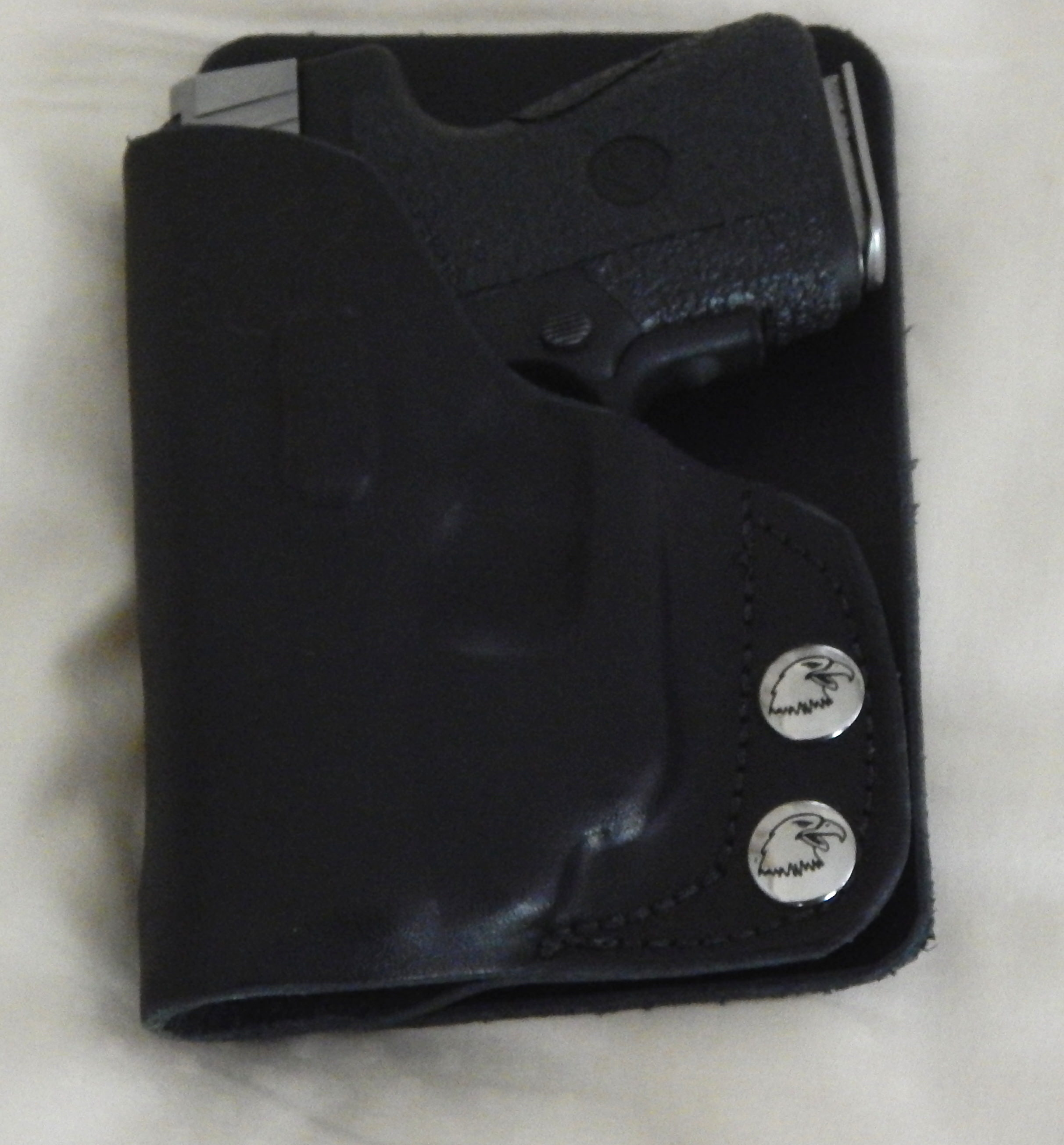 any reviews for Uncle George's wallet holsters?