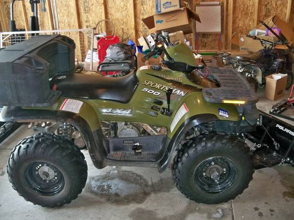 Help And Advice Needed 1998 Polaris Sportsman 500 With Options