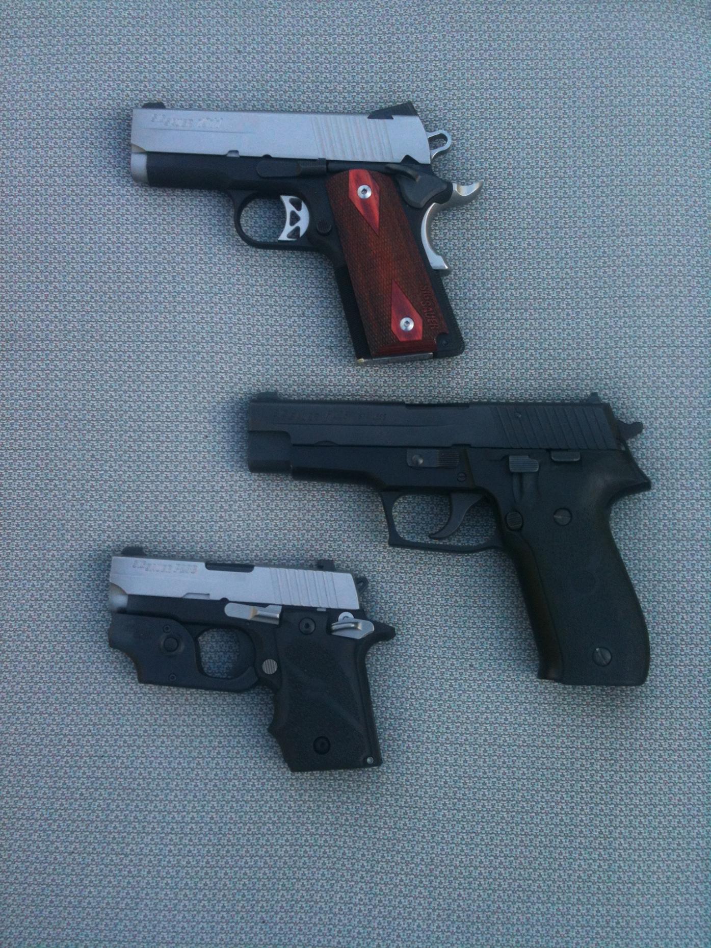 New Sig Sauer Pistol- Ultra Compact 1911-3sigs.jpg