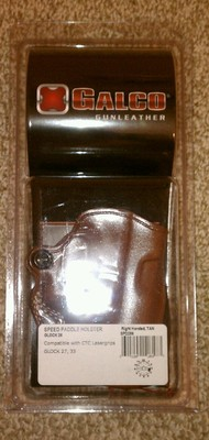 FS: Galco Speed Paddle Holster - Right Hand - Glock 27 / 26 / 23 / 19-4.jpg