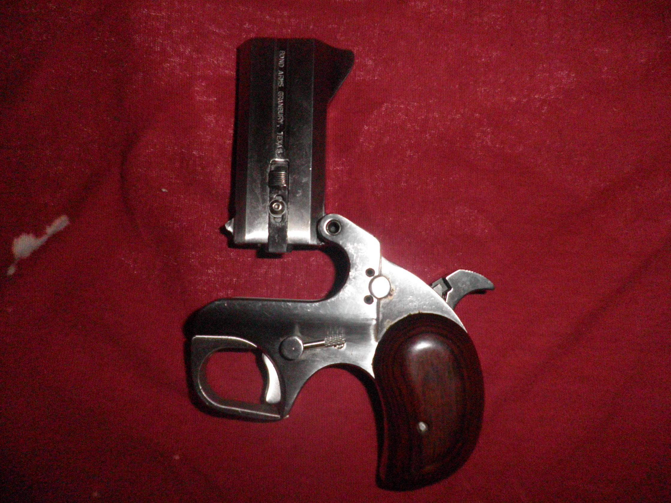 Bond Arms Derringer - Technical Question to owners