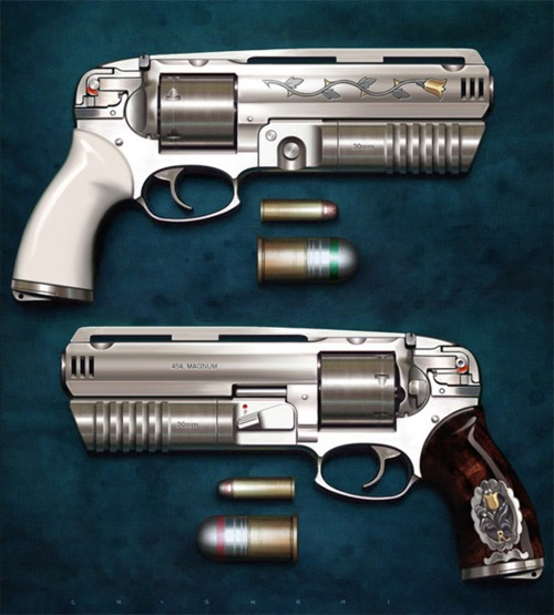 What gun would the most interesting man carry?-454magnum_with_grenadelauncher.jpg