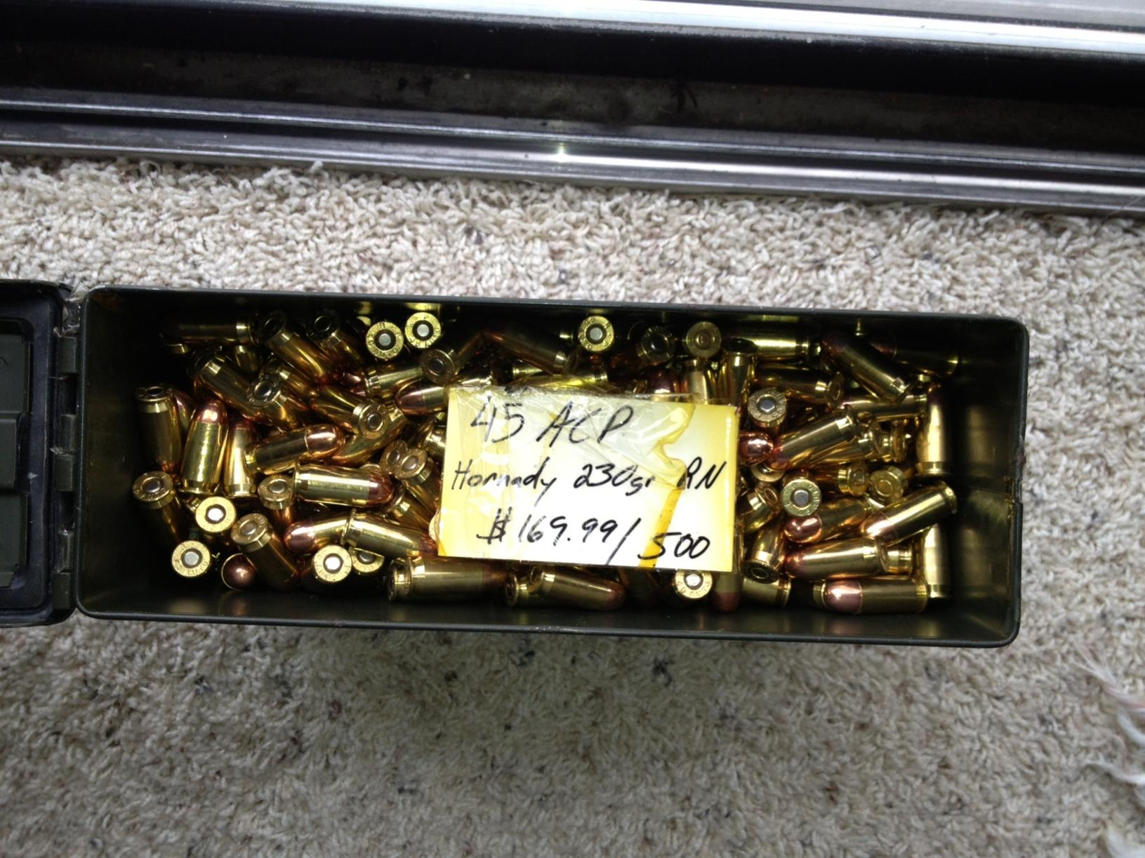 Are you hoarding ammo?-45s.jpg