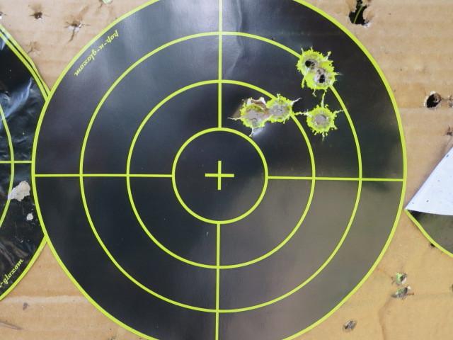 Range time with refinished race gun-5-25-kneeling.jpg