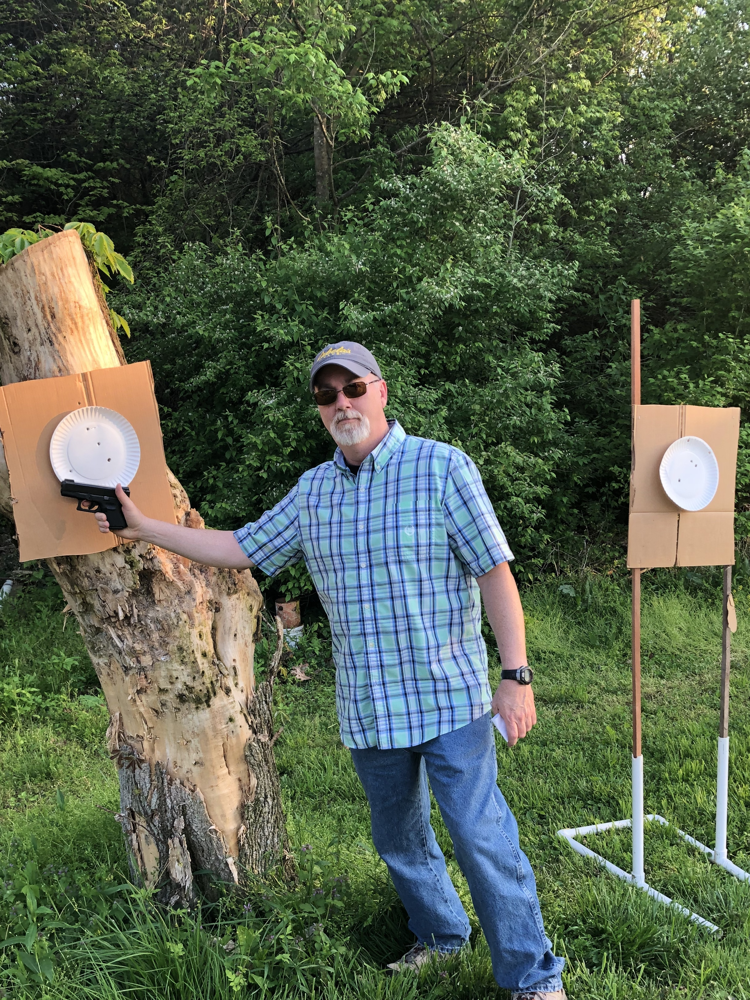 Draw practice from concealed at 12 feet, 2 threats, front sight focus-566f9ed6-4e2f-49d2-acaa-ffd2f9b20091.jpeg