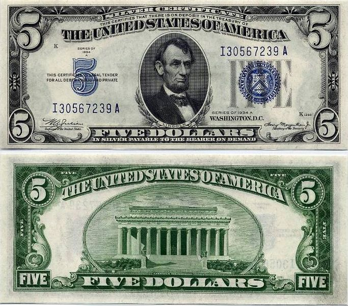 Liberty Dollar raided, silver and gold confiscated-683px-silvercertificate.jpg