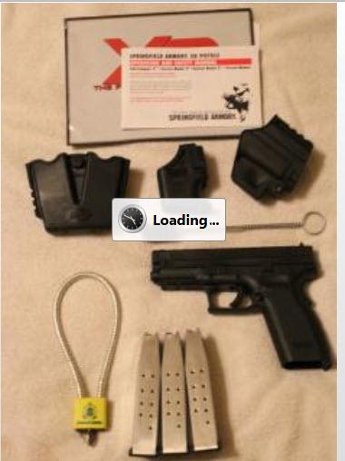 "FS Springfield XD .45 4"" barrel w/3 Hi-cap mags : Dallas, Texas-7-29-2012-10-02-30-am.jpg"