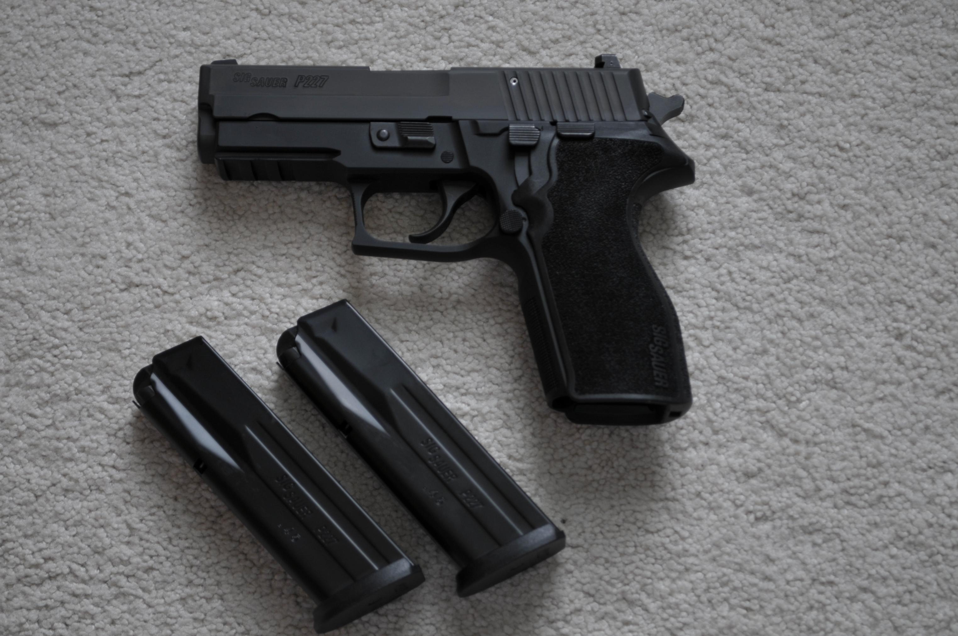 "WTS: Sig Sauer P227 .45 ACP Carry Nitron 3.9"" Barrel 2 Factory mags (WI)-_1rl9432.jpg"