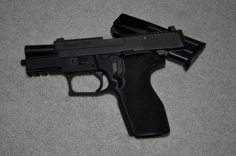 "WTS: Sig Sauer P227 .45 ACP Carry Nitron 3.9"" Barrel 2 Factory mags (WI)-_1rl9434.jpg"
