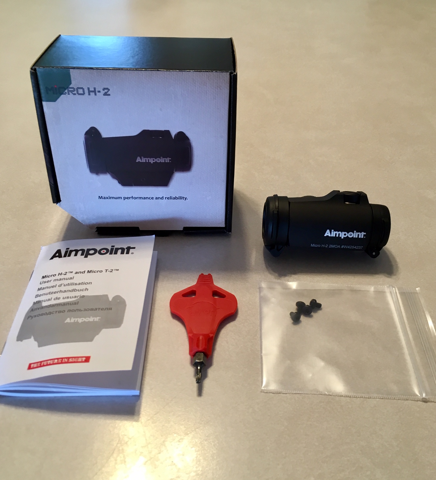 WTS: Aimpoint Micro H-2, 2 MOA, Full factory package without mount (Model 200186) New-ap1.jpg