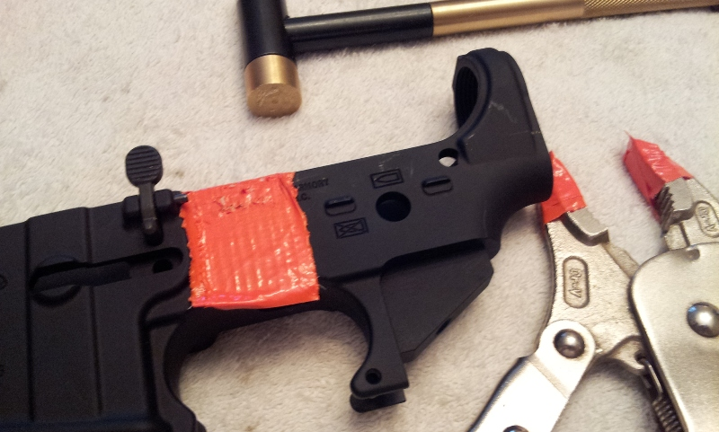 Building an AR:  best books/guides on the subject-ar15-install-roll-pin1.jpg